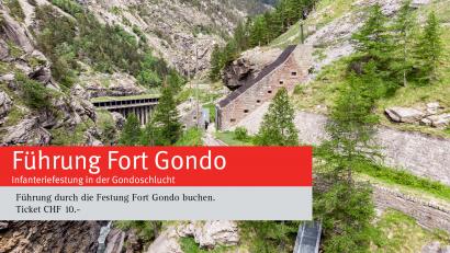Führung Fort Gondo
